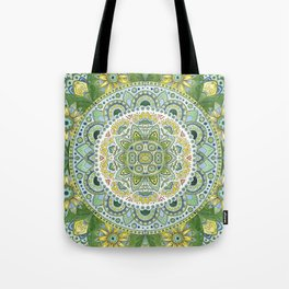 Green Madala Tote Bag