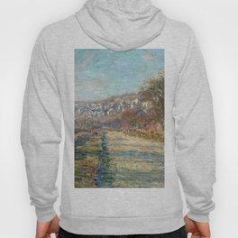 1880-Claude Monet-Road of La Roche-Guyon-60 x 73 Hoody