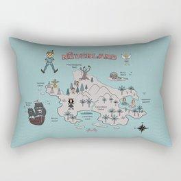 Neverland Rectangular Pillow