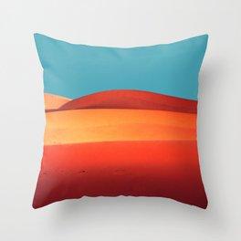 sensual desert  Throw Pillow