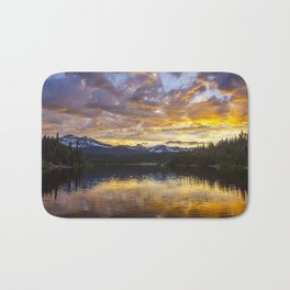 Mile High Sunset Bath Mat