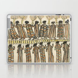 Figures in possum skin cloaks by William Barak, 1889 Laptop & iPad Skin