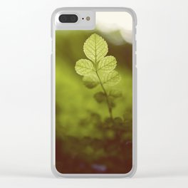 Into the green Clear iPhone Case