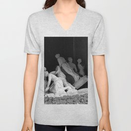 Ghosts of Lovers Past black and white photograph / art photography Unisex V-Neck