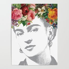 Frida Kahlo Portrait Poster
