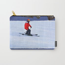 Winter Run - Downhill Skier Carry-All Pouch