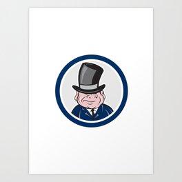 Man Cartoon Art Prints Society6