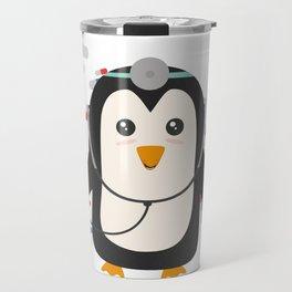 Penguin doctor   Travel Mug