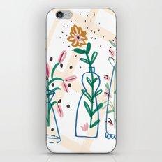 Flowers. Vase, illustration, art, print, pattern, nature, floral, still life, iPhone & iPod Skin