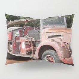 Old Fire Truck Pillow Sham