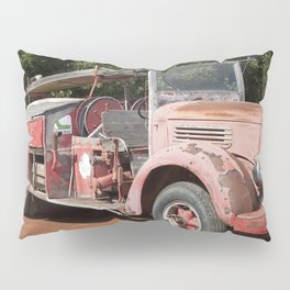 Old Fire Truck Pillow Sham