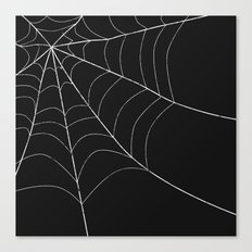 SPIDERWEB SPOOKNESS Canvas Print