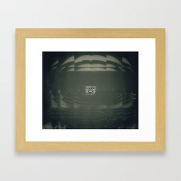 LOST ASTRONAUT Framed Art Print