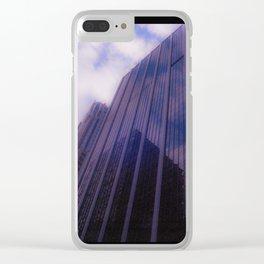 Skyward Dreamscape Clear iPhone Case