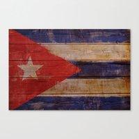 cuba Canvas Prints featuring Cuba  by Jordygraph