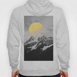 Moon dust mountains Hoody