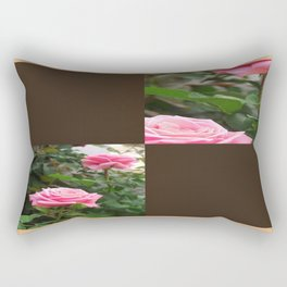 Pink Roses in Anzures 5  Blank Q3F0 Rectangular Pillow