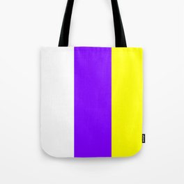 flag of canary islands 2b -canaries,canary,atlantic,canarias,Canarian,canario,canaria,spain,spanish, Tote Bag