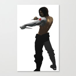 Training Canvas Print