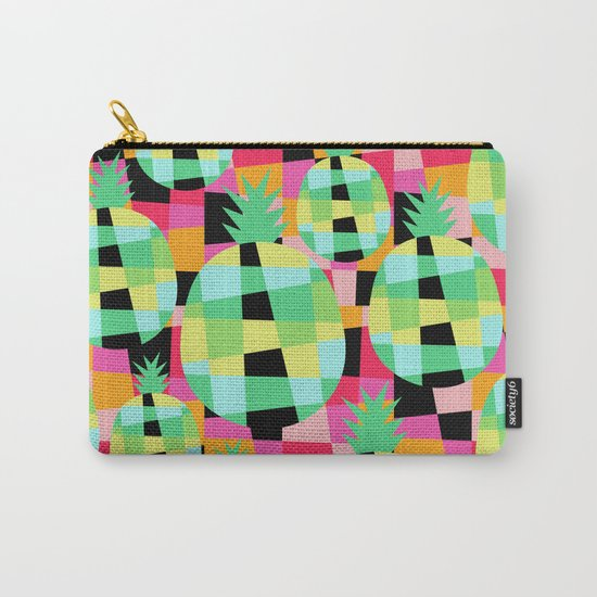 Pop-Pineapple Carry-All Pouch