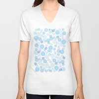 bubble V-neck T-shirts featuring Bubble by FACTORIE