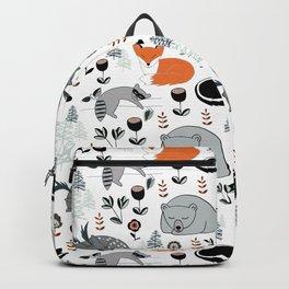 Woodland Nap Time Backpack
