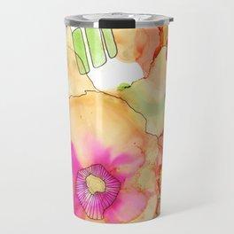 Neon Petunia Travel Mug
