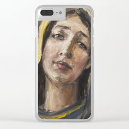 Beloved mother Clear iPhone Case