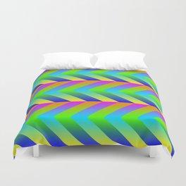 Colorful Gradients Duvet Cover