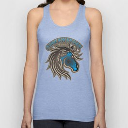 Horse Nation (Blue) Unisex Tank Top