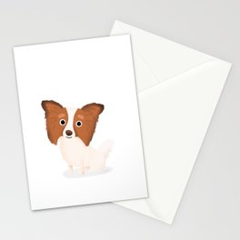 Papillon - Cute Dog Series Stationery Cards