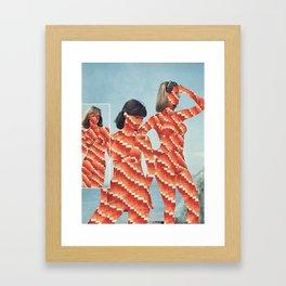 Patterns of Science Framed Art Print