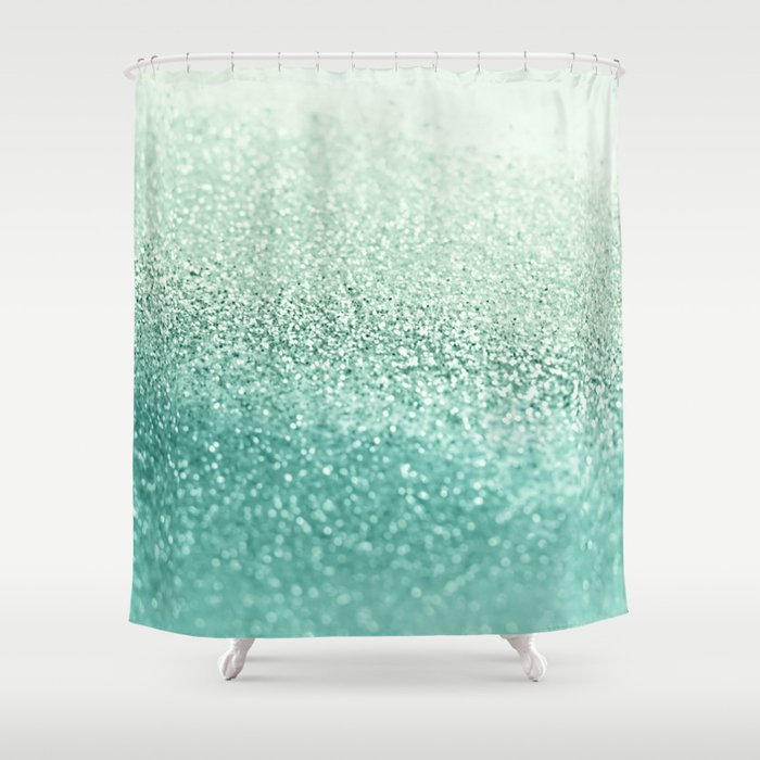 seafoam shower curtain by monikastrigel society6. Black Bedroom Furniture Sets. Home Design Ideas