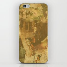 LOK Live Love Montage iPhone Skin