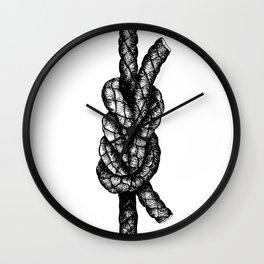 Surgeon's Knot Wall Clock