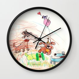 :: Underdogs Party-on-the-Lawn :: Wall Clock