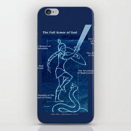 Full Armor of God - Warrior Girl 4 iPhone Skin