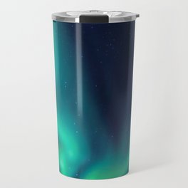 Aurora Borealis Lights Up the Sky (Northern Lights) Travel Mug