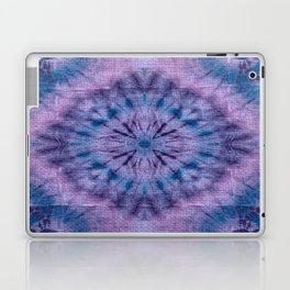 Purple Tie Dye Laptop & iPad Skin