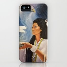 Native American Shaman iPhone Case