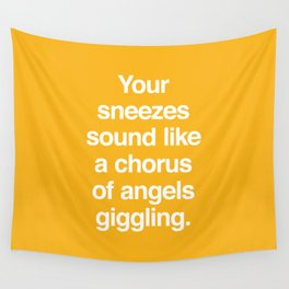 Chorus of Angels Wall Tapestry
