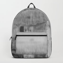 Walk the Line B&W Backpack