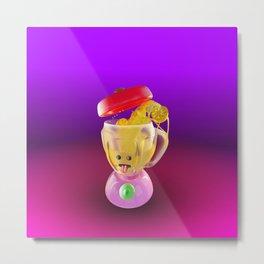 Lemmon juice Blender Metal Print