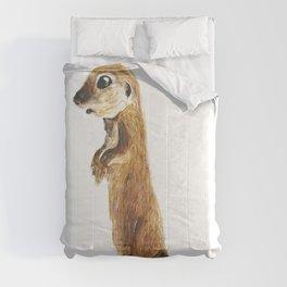 cute little otter Comforters