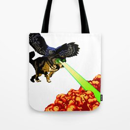 OWL WOLF ALLIANCE Tote Bag