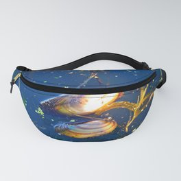 Clams in a Tidal pond Fanny Pack