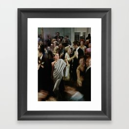 Holly Golightly Party Framed Art Print