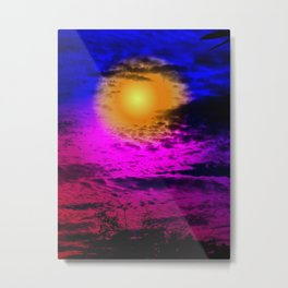 Sol Night Metal Print