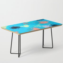 Abstract Paint splatter design Coffee Table