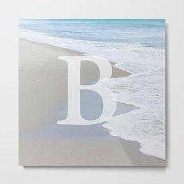 BEACH - B Metal Print